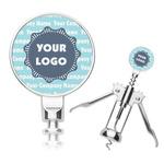 Logo & Company Name Corkscrew (Personalized)
