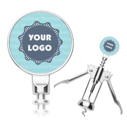 Logo & Company Name Corkscrew (Personalized)