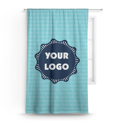 Logo & Company Name Curtain