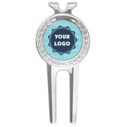 Logo & Company Name Golf Divot Tool & Ball Marker (Personalized)
