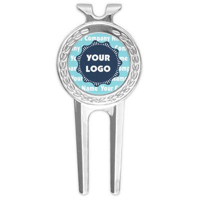 Logo & Company Name Golf Divot Tool & Ball Marker (Personalized)