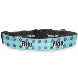 Logo & Company Name Deluxe Dog Collar (Personalized)