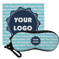 Logo & Company Name Eyeglass Case & Cloth (Personalized)