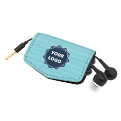 Logo & Company Name Genuine Leather Cord Wrap (Personalized)