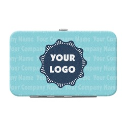 Logo & Company Name Genuine Leather Small Framed Wallet (Personalized)