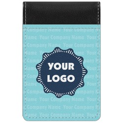 Logo & Company Name Genuine Leather Small Memo Pad (Personalized)