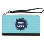 Logo & Company Name Genuine Leather Smartphone Wrist Wallet (Personalized)