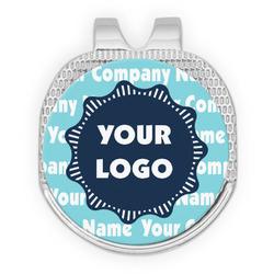 Logo & Company Name Golf Ball Marker - Hat Clip