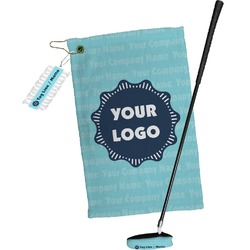 Logo & Company Name Golf Towel Gift Set (Personalized)