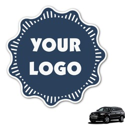 Logo & Company Name Graphic Car Decal (Personalized)