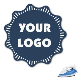 "Logo & Company Name Graphic Iron On Transfer - Up to 9""x9"" (Personalized)"