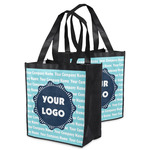 Logo & Company Name Grocery Bag (Personalized)