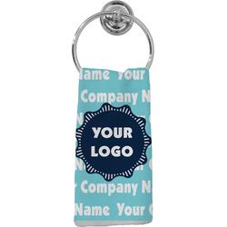Logo & Company Name Hand Towel - Full Print (Personalized)