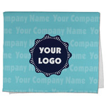 Logo & Company Name Kitchen Towel - Full Print (Personalized)