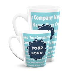 Logo & Company Name Latte Mug