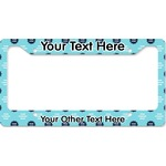 Logo & Company Name License Plate Frame (Personalized)