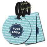 Logo & Company Name Plastic Luggage Tags