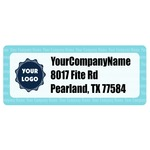 Logo & Company Name Return Address Labels (Personalized)