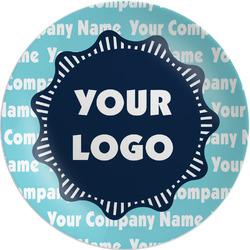 Logo & Company Name Melamine Plate - 8