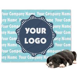Logo & Company Name Dog Blanket (Personalized)
