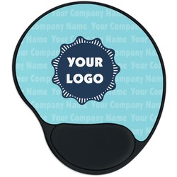 Logo & Company Name Mouse Pad with Wrist Support