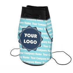 Logo & Company Name Neoprene Drawstring Backpack (Personalized)