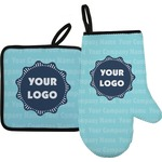 Logo & Company Name Oven Mitt & Pot Holder (Personalized)
