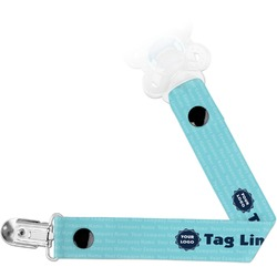 Logo & Company Name Pacifier Clips (Personalized)
