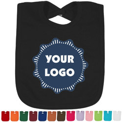 Logo & Company Name Baby Bib - 14 Bib Colors (Personalized)