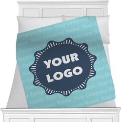 Logo & Company Name Blanket (Personalized)