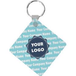 Logo & Company Name Diamond Key Chain (Personalized)