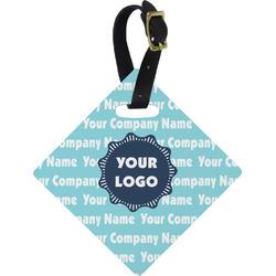 Logo & Company Name Diamond Luggage Tag (Personalized)
