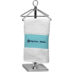 Logo & Company Name Finger Tip Towel (Personalized)