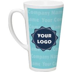 Logo & Company Name 16 Oz Latte Mug