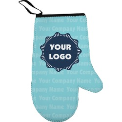 Logo & Company Name Oven Mitt (Personalized)