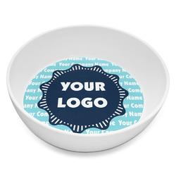 Logo & Company Name Melamine Bowl 8oz (Personalized)