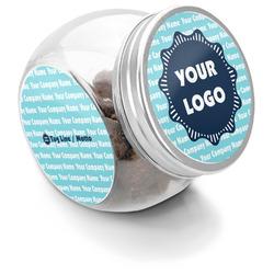 Logo & Company Name Puppy Treat Jar (Personalized)