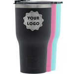 Logo & Company Name RTIC Tumbler - Black (Personalized)