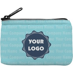 Logo & Company Name Rectangular Coin Purse (Personalized)
