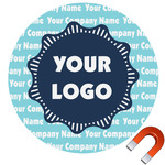 Logo & Company Name Car Magnet (Personalized)