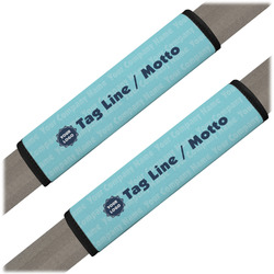 Logo & Company Name Seat Belt Covers (Set of 2) (Personalized)