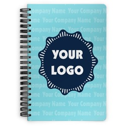 Logo & Company Name Spiral Bound Notebook (Personalized)