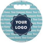 Logo & Company Name Stadium Cushion (Round) (Personalized)