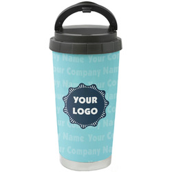 Logo & Company Name Stainless Steel Coffee Tumbler