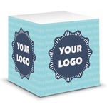 Logo & Company Name Sticky Note Cube (Personalized)