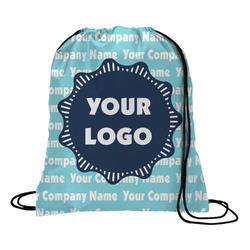 Logo & Company Name Drawstring Backpack (Personalized)