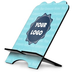 Logo & Company Name Stylized Tablet Stand (Personalized)