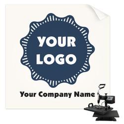Logo & Company Name Sublimation Transfer (Personalized)