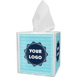 Logo & Company Name Tissue Box Cover (Personalized)