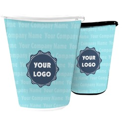 Logo & Company Name Waste Basket (Personalized)